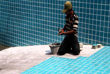 Swimming Pool Tiles Fitting in Delhi